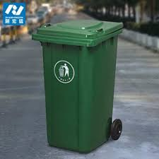 outdoor trash can. Recycling Wheel Bin Stand For Street Use Outdoor Trash Can