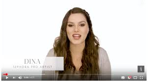 then there s a couple of seconds long animated le clip giving out sephora s minimalistic vibes