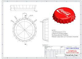 I will also teach you how to use the equations feature. Solidworks Tutorial Coca Cola Cap Cad Cam Tutor Mahtab Facebook