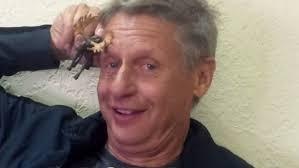 Image result for gary johnson stoned