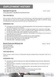85 Sample Resume For Insurance Agent 100 Sample Resume For