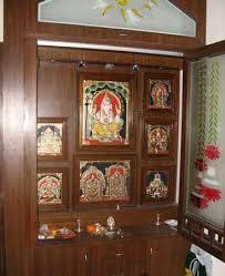 Small Picture Pooja room cupboard designs Interior Exterior Doors Design