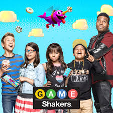 Small Picture On set with the Cast of Nickelodeons Game Shakers Premiering