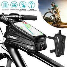 <b>Cycling</b> MorningBreeze Triangle <b>Bike</b> Frame Bag <b>Waterproof</b> Pouch ...