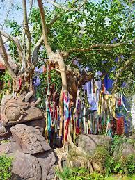 black gold garden shrines dedicate