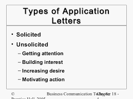 example of unsolicited application letter with resume solicited cover letter sample