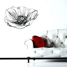 poppy wall decals poppies wall decal 5 gallery black poppy wall decals poppies wall decals poppy poppy wall decals