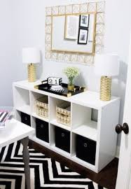 black and white home office. home office tour black and white