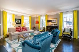 house tour a colorful home on marlborough street bright colorful home