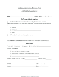Youth Sports Medical Release Disclosure Form Template Records – Rigaud