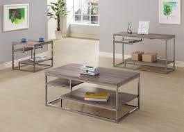 coffee table the khazana home austin furniture iron ccar coaster 703727
