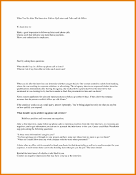 14 Fresh Sample Follow Up Letter After Submitting A Resume Resume