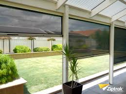 electric exterior window blinds