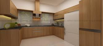 Design Theme Bangalore Dlife Pine U Shape Kitchen In Walnut Bronze Theme