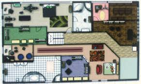 Cullen House 2nd Floor By AramisArya On DeviantArtCullen House Floor Plan
