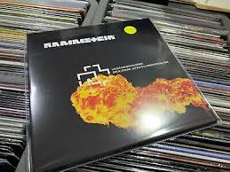 <b>rammstein 2 lp</b> live aus berliner waldbuhne blood vinyl