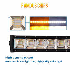 Color Changing Led Light Bar For Truck China Wholesale 22inch Offroad Off Road Driving 1800k 6500k