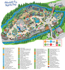 island map  the island at pigeon forge  pigeon forge tennessee