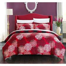 um image for red and black duvet covers red black and white duvet covers chic home