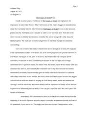 the grapes of wrath essay king julianne king ap english lit the grapes of wrath essay king 1 julianne king ap english lit the grapes of wrath essay family structure plays a vital theme in the grapes of wrath
