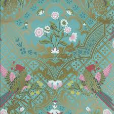 Buy Brodsworth Empress Bird Wallpaper Little Greene