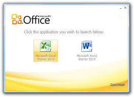 Free Windows 2010 Microsoft Office 2010 Starter Free Windows Help Guides
