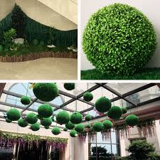 Decorative Boxwood Balls 100cm100100cm Conifer Topiary Ball Tree Boxwood Wedding Event Home 76
