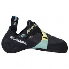 Scarpa Climbing Shoe Comparison Chart Scarpa Womens Arpia Climbing Shoes Black Aqua 35 Eu