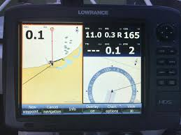 Help With A Lowrance Hds Display Fishing Fishwrecked Com