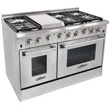 professional gas range reviews. Fine Reviews Thor Kitchen 48inch Stainless Steel Professional Gas Range With 6 Burners  And Griddle  In Reviews