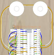 how to wire a 66 block rj11 wiring diagram at Telephone Punch Down Block Wiring Diagram