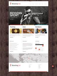 Winchester Website Design Website Design 49132 Shooting Club Center Custom Website