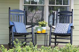 marvellous rocking chairs in front porch design ideas glamorous front porch decoration with black wood