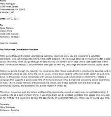 Un Volunteer Cover Letter Cover Letter Volunteer Volunteer Cover ...