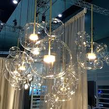 glass bubble light post modern led clear glass bubble ball led pendant fixtures indoor lighting re glass bubble light blown glass bubble chandelier