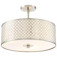 semi flush ceiling light by george kovacs  p