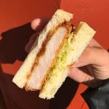 Pork Katsu Sandwich, Bulldog Sauce at ...