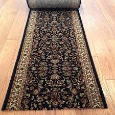 moxy black 26 inch wide finished runner is per foot only 14 feet left