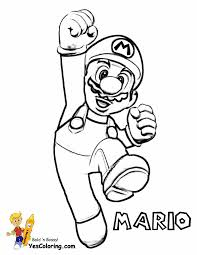 Mario Kart 7 Coloring Pages With Mario Bros Coloring Super Mario