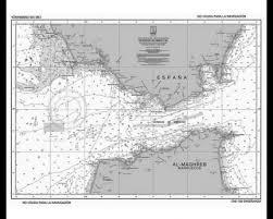Pack 5 Nautical Chart For Examination Strait Of Gibraltar