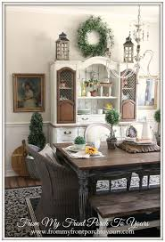 Best  French Country Style Images On Pinterest Home Decor - Country dining rooms