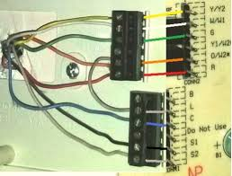 need help replacing old bryant thermostat with new honeywell honeywell rth7600d wiring heat pump at Rth7600 Wiring Diagram