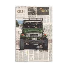 <b>Toyota Land Cruiser 40</b> Art Print | Uncrate