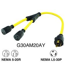 1000 ideas about 20 amp extension cord installing generator 30 amp 3 prong extension cord to 15 20 amp