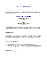 Cashier Experience Resume Skills For Cashier Oklmindsproutco