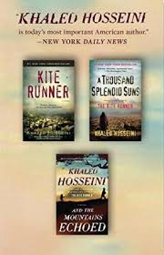 the kite runner a thousand splendid suns and the mountains  the kite runner a thousand splendid suns and the mountains echoed box set