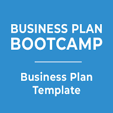 Business Plan Bootcamp Business Plan Template - Opportunity Group