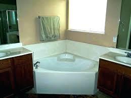 corner garden tub ideas tubs dimension generous remodel r garden tub with shower corner