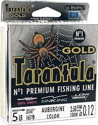 <b>Леска Balsax Tarantula Gold</b>, 150 м, 0,12 мм, 2,5 кг — купить в ...