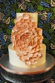 Fancy Fantasy Flower Wedding Cake